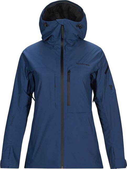Peak Performance Alpine 2L Jacket Dame Decent Blue | Gode